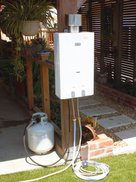 Eccotemp L10 High Output Outdoor Tankless Water Heater