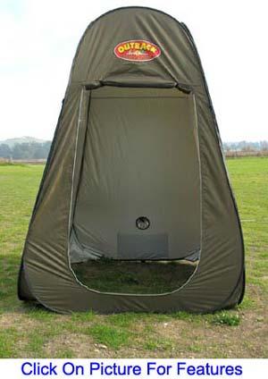 outback porta privy privacy tent