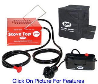 Campfire Amp Stovetop Water Heaters